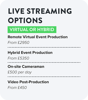 Live Streaming Options