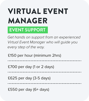 Virtual Event Manager Costs