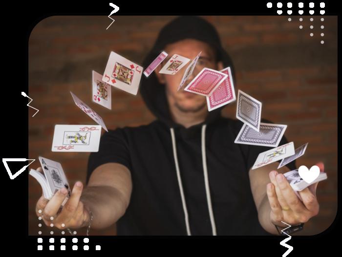 The Astonishment Artist Online Interactive Magic Show