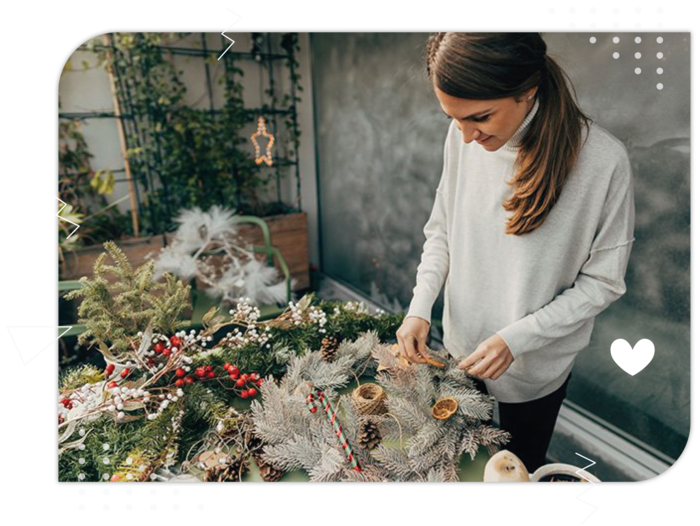 Virtual Christmas Wreath Making Workshop